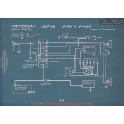 Paterson 6 45 45r Schema Electrique 1917 1918 V2