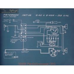 Paterson 6 45 45r Schema Electrique 1917 1918