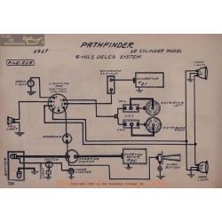 Pathfinder 12cyl 6volt Schema Electrique 1917 Delco V2