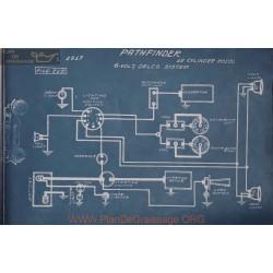 Pathfinder 12cyl 6volt Schema Electrique 1917 Delco