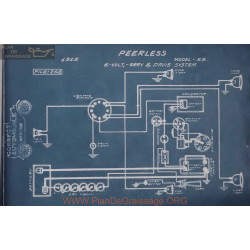 Peerless 55 6volt Schema Electrique 1915 Gray & Gray