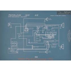 Peerless 55 Schema Electrique 1915 V2