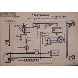 Peerless 56 2ff 6volt Schema Electrique 1917 Gray & Davis V2