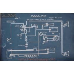 Peerless 56 2ff 6volt Schema Electrique 1917 Gray & Davis