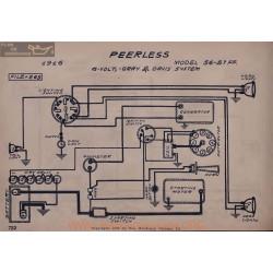 Peerless 56 51 Ff 6volt Schema Electrique 1916 Gray & Davis