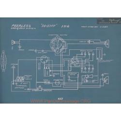 Peerless 56 51ff Schema Electrique 1916