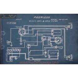 Peerless 56 57 Ff 6volt Schema Electrique 1916 Gray & Davis