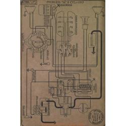 Peerless 56 8cyl Schema Electrique 1917 Gray & Davis