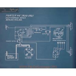Porter 46 Schema Electrique 1920 1921