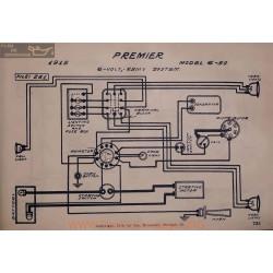 Premier 6 50 6volt Schema Electrique 1915 Remy V2