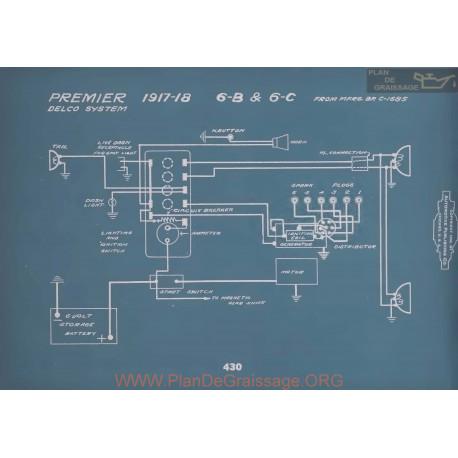Premier 6b 6c Schema Electrique 1917 1918