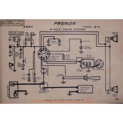 Premier 6d 6volt Schema Electrique 1920 Delco V2