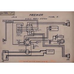 Premier A 6volt Schema Electrique 1914 Remy V2