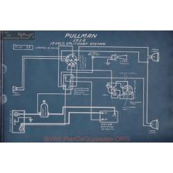 Pullman 12volt Schema Electrique 1915 Splitdorf