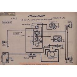 Pullman 4 24 6volt Schema Electrique 1917 Splitdorf V2