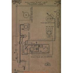 Pullman 4 244 4cyl 6cyl Schema Electrique 1917 Splitdorf Aplco
