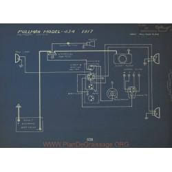 Pullman 434 Schema Electrique 1917 Splitdorf