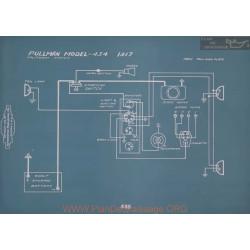 Pullman 434 Schema Electrique 1917 V2