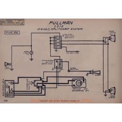 Pullman 6volt 12volt Schema Electrique 1916 Splitdorf V2