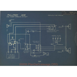 Pullman Schema Electrique 1916 Splitdorf Apelco