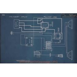 Pullman Schema Electrique 1916 V2