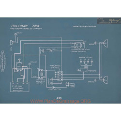 Pullman Schema Electrique 1916