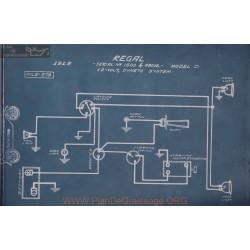 Regal D 12volt Schema Electrique 1915 Dyneto