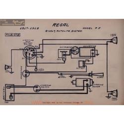 Regal Fj 6volt Schema Electrique 1917 1918 Autolite V2