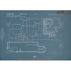 Regal J Schema Electrique 1917 1918 V2