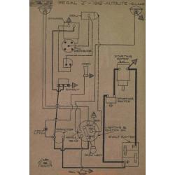 Regal J Schema Electrique 1918 Autolite