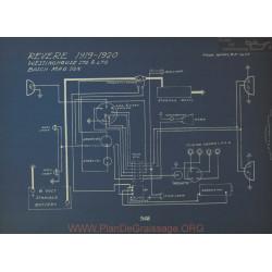 Revere Schema Electrique 1919 1920 Westinghouse Bosch
