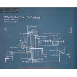 Rickenbacker A Schema Electrique 1922
