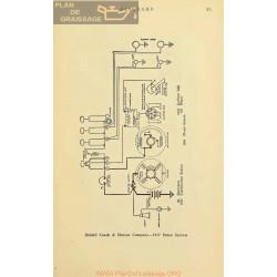 Riddell Coach Hearse Schema Electrique 1917 Remy