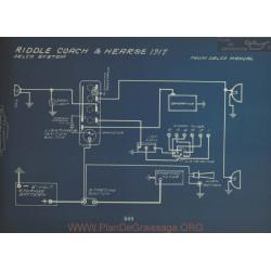 Riddle Coach Hearse Schema Electrique 1917 Delco