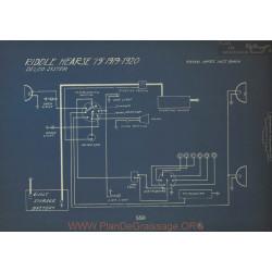 Riddle Hearse 19 Schema Electrique 1919 1920 Delco