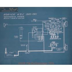 Roamer 4 75 E Schema Electrique 1920 1921