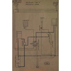 Roamer Car Schema Electriqe 1917 Bijur