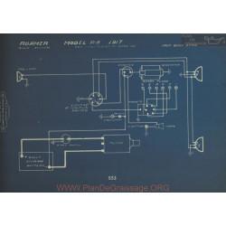 Roamer R A Schema Electrique 1917 Bijur