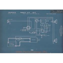 Roamer R A Schema Electrique 1917