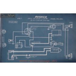 Roamer Ra Rac 14005 To 15736 6volt Schema Electrique 1917 Bijur