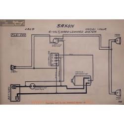 Saxon Four 6volt Schema Electrique 1915 Ward Leonard V2