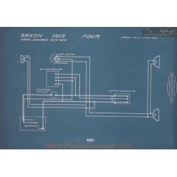 Saxon Four Schema Electrique 1915 V2