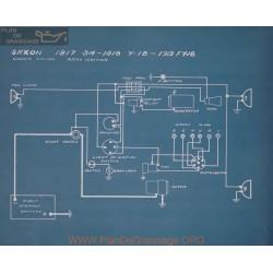 Saxon Fy18 Schema Electrique 1919