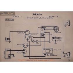 Saxon S 6volt Schema Electrique 1916 Gray & Davis