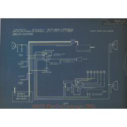 Sayers And Scovill Bp Cp Schema Electrique 1919 1920 Delco