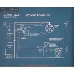 Sayers Six Cp Delco Schema Electrique 1920