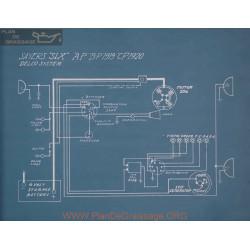 Sayers Six Cp Schema Electrique 1920