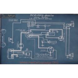 Scripps Booth 12volt Schema Electrique 1915 Bijur