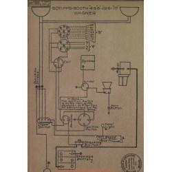 Scripps Booth 4 8 Schema Electrique 1916 1917 Wagner