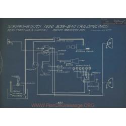 Scripps Booth B39 B40 Schema Electrique 1920 Remy V5